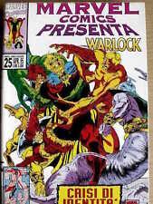 Marvel Comics presenta WARLOCK n°25 1995 ed. Marvel Italia  [G.199]