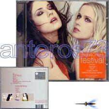 "PAOLA & CHIARA ""FESTIVAL"" RARO CD 2002 + FARGETTA REMIX"