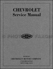 1916 1917 1918 1919 Chevrolet Repair Shop Manual 8 Cylinder D 4 Cyl 490 F Chevy