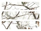 Real Tree RealTree Snow camo edible cake strips cake topper decorations
