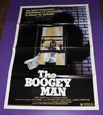 THE BOOGEY MAN ORIGINAL ONE SHEET MOVIE POSTER
