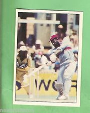 1985 SCANLENS CRICKET STICKER #87  VIV RICHARDS, WEST INDIES