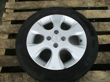 2012 HYUNDAI i-20 4 STUD 15'' ALLOY WHEEL AND TYRE 185/60R15H
