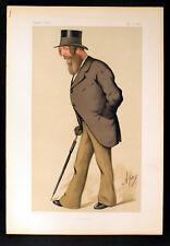 Frederick acclom Milbank, député 1875 Spy Vanity Fair Lithographie #208
