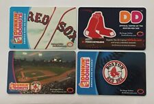 Dunkin Donuts Gift Card. BOSTON RED SOX. FENWAY PARK. 2006-2011. Mint.