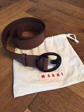 MARNI leather belt, M, 97cm, brown