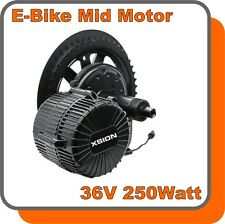 E-BIKE MID Mittelmotor Kit Pedelec 36V 250W Antrieb Umbausatz Inside Controller