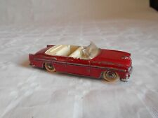 Vintage french Dinky toys No 24A Chrysler new yorker 1955 red convertable
