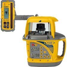 Spectra GL720 Dual Slope Grade Laser HL750 Receiver - 3,000ft operating range