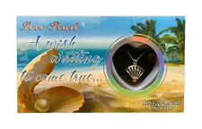 Sea Shell Purity Love Pearl Creations Wish Necklace Gift Box Sea Life