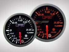 Prosport Ladedruck Racing Premium Serie Orange/ Weiss 52mm