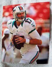 Miami Dolphins Ryan Tannehill Signed 8x10  Photo Auto