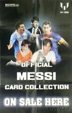 Lionel Messi Card Collection HUGE Official Collectors Poster-FC Barcelona Star!