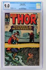 Thor #130 - Marvel 1966 CGC 9.0 Hercules and Pluto Appearance.