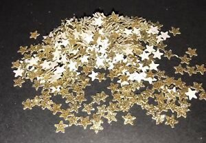 ⭐️ Gold Tiny Glitter Star Confetti ⭐️
