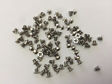 "100 PCs M3x3mm Laptop Hard Drive 2.5"" Caddy Screws"