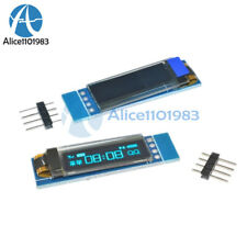 "10PCS 0.91""128x32 IIC I2C Blue OLED Display Module SSD1306 DC3.3V 5V For Arduino"