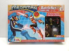 MEGAMAN NT WARRIOR BATTLE NET BOARD GAME *RARE NEW SEALED* 2004 MATTEL