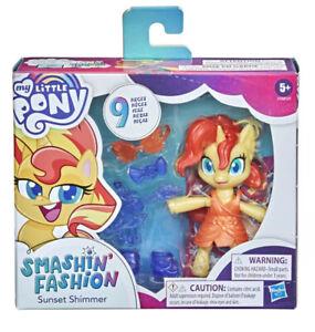 My Little Pony Smashin' Fashion Sunset Shimmer Figure Brand New