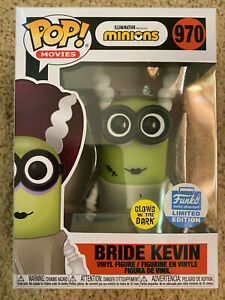 """Funko Pop- Movies - """"Bride Kevin"""" from MINIONS - Limited Edition- IN STOCK"""