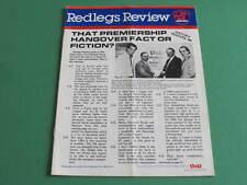 1989 Redlegs Review Norwood Football Club Premiers Winter McIntosh Laughlin Tayl