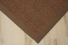 Sisal Teppich Manaus mit Bordüre nuss 200x250 cm 100% Sisal