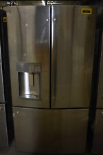 """Ge Pfe28Pskss 36"""" Stainless French Door Refrigerator Nob #37531 Clw"""