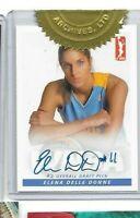 Elena Delle Donne WNBA autograph card incentive Rittenhouse 2013