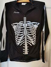 Scimitar Skeleton Cycling Jersey SIZE MEDIUM, uk seller