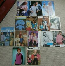 12 1960s 70s knitting patterns and vol 1 best of modern knitting freepost uk