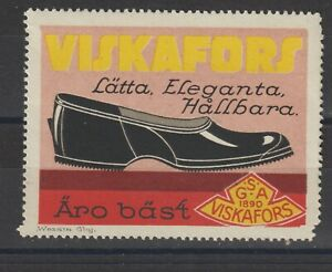 Swedish Poster Stamp Shoes