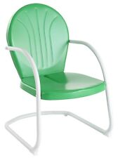 Crosley Griffith Metal Chair in Grasshopper Green Finish - CO1001A-GR
