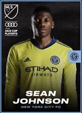 [DIGITAL CARD] Topps Kick - Sean Johnson - MLS 2020 Playoffs - Team Color
