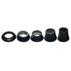 """UD Carbon Fiber Spacer Washer Bicycle Front Forks Spacers Conical Washers 1-1/8"""""""