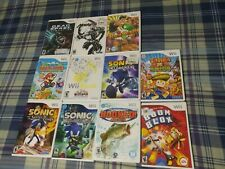 Wii Lot 11 Dead Space Punch Out Paper Mario Sonic Music Mad World