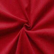 Baumwollstoff Feincord Babycord Rot 140cm breit Modestoff Hosenstoff Meterware