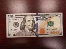 2009-A ~ US One Hundred Dollar Bill Star Note $100 **Atlanta** LF07248909*