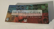 PPG Paints Small Fan Deck The Voice of Color Harmony Collection 2005