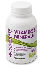 +WATT Vitamins & Minerals da 120 compresse Multivitaminico Multiminerale