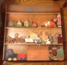 Woodworking Pattern Club 1990 Woodworking Scroll Saw Patterns and Cutouts Craft