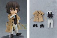 Bungo Stray Dogs Osamu Dazai PVC Action Figure 14cm Real Cloth Birthday Present