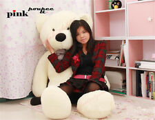 Big White Teddy Bear Plush 72'' Giant Cushion Huge Soft Toy Animal Birthday Gift