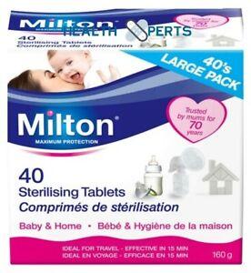 Milton Sterilising tablets - MULTIBUY VARIATION LISTING READ DESCRIPTION