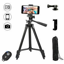 Dezuo 107cm Alluminio Cavalletto Treppiede Reflex per Fotocamera Smartphone i...