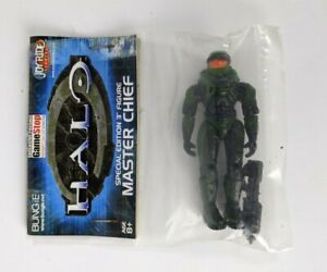 """Joyride Halo Special Edition Master Chief Green GameStop Exclusive 3"""" Figure"""