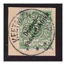 DSWA ° Keetmanshoop 13.1 ohne Jahreszahl  Luxus Briefstück Minr. 2 gepr. BPP