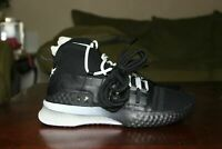 Under Armour UA Project The Rock 1 Delta Black White Shoes 3020788-001 Mens Size