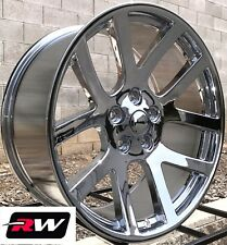 "Chrysler 300 Wheels 22"" inch Dodge Viper Style 22x9"" Chrome Rims 5x115 +18"