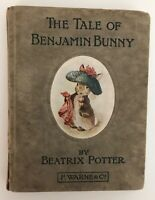 Beatrix Potter - Tale of Benjamin Bunny - First Edition - 1904