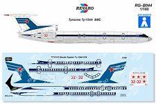Revaro Decal Tu-154A Soviet VVS Veb Plasticart model kit 1/100
